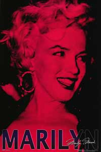 Marilyn Monroe - People Poster - 24 x 36 - Style R