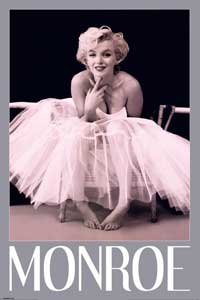 Marilyn Monroe - People Poster - 24 x 36 - Style N
