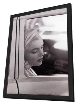 Marilyn Monroe - 11 x 17 Movie Poster - Style A - in Deluxe Wood Frame