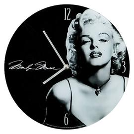 Marilyn Monroe - Glass Wall Clock