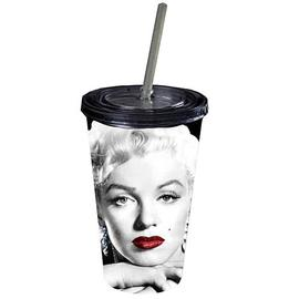 Marilyn Monroe - Glamour Shot Plastic Travel Mug