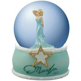 Marilyn Monroe - Turquoise Dress Water Globe