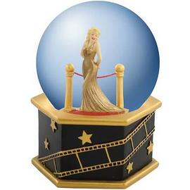 Marilyn Monroe - Velvet Rope Musical Water Globe
