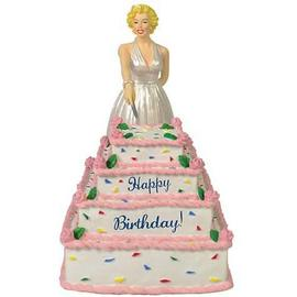 Marilyn Monroe - Birthday Cake Statue