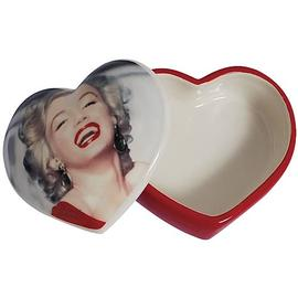 Marilyn Monroe - Red Dress Trinket Box