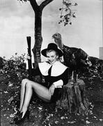 Marilyn Monroe - Marilyn Monroe Dressed as a Pilgrim for Thanksgiving - Photograph High Q...