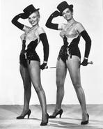 Marilyn Monroe - Marilyn Monroe in Gentlemen Prefer Blondes with Top Hat and Cane - Photo...