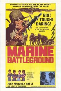 Marine Battleground - 27 x 40 Movie Poster - Style A