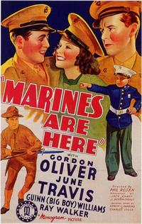 Marines are Here - 11 x 17 Movie Poster - Style A