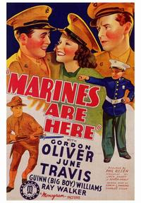 Marines are Here - 43 x 62 Movie Poster - Bus Shelter Style A