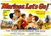 Marines Lets Go - 11 x 14 Movie Poster - Style B