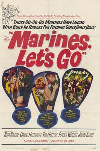 Marines Lets Go - 11 x 17 Movie Poster - Style A
