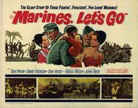 Marines Lets Go - 22 x 28 Movie Poster - Half Sheet Style A