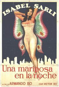 Mariposa en la noche, Una - 27 x 40 Movie Poster - Spanish Style A