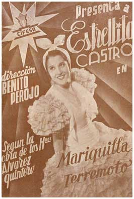 Mariquilla Terremoto - 11 x 17 Movie Poster - Spanish Style A
