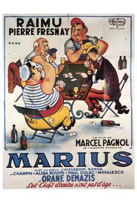 Marius - 27 x 40 Movie Poster