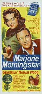 Marjorie Morningstar - 14 x 36 Movie Poster - Insert Style A