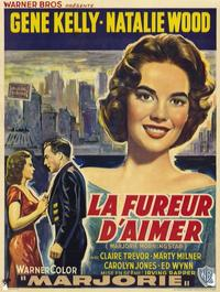 Marjorie Morningstar - 11 x 17 Movie Poster - Belgian Style A