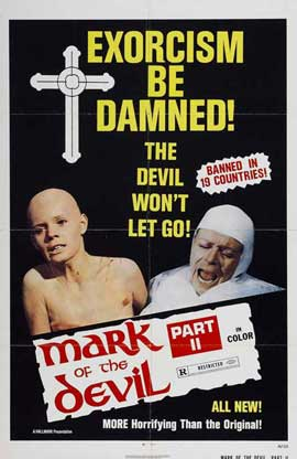 Mark of the Devil II - 27 x 40 Movie Poster - Style A