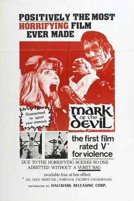 Mark of the Devil - 27 x 40 Movie Poster - Style A