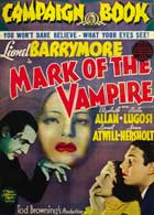 Mark of the Vampire - 11 x 17 Movie Poster - Style G