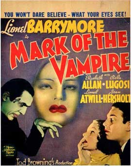 Mark of the Vampire - 11 x 17 Movie Poster - Style B
