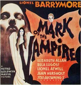 Mark of the Vampire - 11 x 17 Movie Poster - Style C