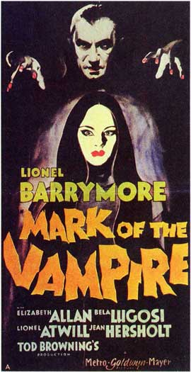 Mark of the Vampire - 11 x 17 Movie Poster - Style D