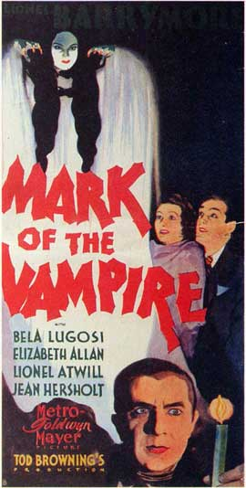 Mark of the Vampire - 11 x 17 Movie Poster - Style E