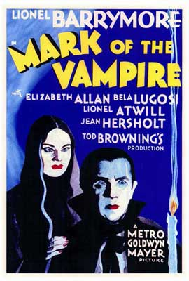 Mark of the Vampire - 27 x 40 Movie Poster - Style A