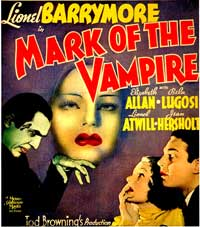 Mark of the Vampire - 25 x 25 Movie Poster - Style A