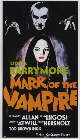 Mark of the Vampire - 11 x 17 Movie Poster - Style I