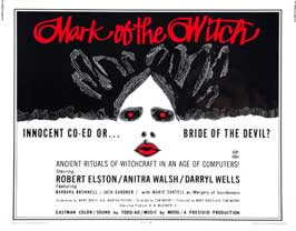 Mark of the Witch - 11 x 14 Movie Poster - Style A