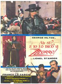 Mark of Zorro - 11 x 17 Movie Poster - Spanish Style A