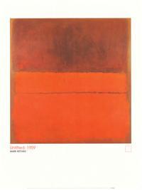 Mark Rothko - Art Poster - 24 x 32 - Style B