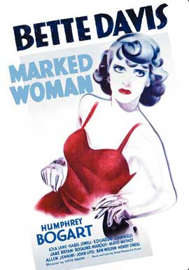 Marked Woman - 11 x 17 Movie Poster - Style B