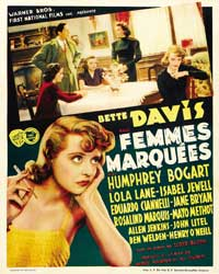 Marked Woman - 43 x 62 Movie Poster - Belgian Style A