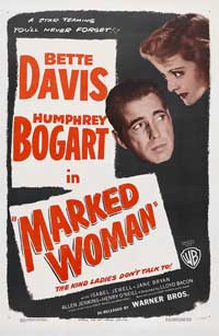 Marked Woman - 11 x 17 Movie Poster - Style C