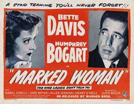 Marked Woman - 11 x 14 Movie Poster - Style A