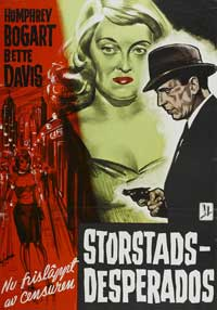 Marked Woman - 11 x 17 Movie Poster - Swedish Style A
