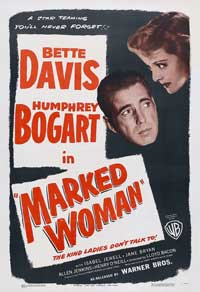 Marked Woman - 27 x 40 Movie Poster - Style C