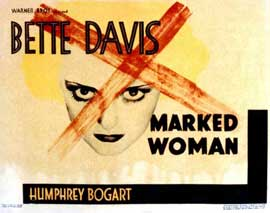 Marked Woman - 22 x 28 Movie Poster - Half Sheet Style A