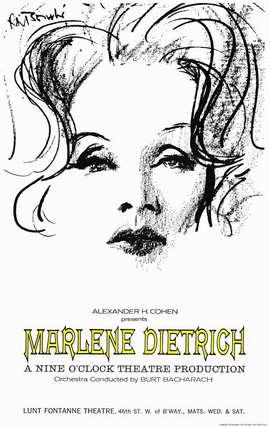 Marlene Dietrich - 11 x 17 Movie Poster - Style A