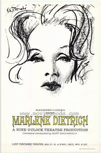 Marlene Dietrich - 43 x 62 Movie Poster - Bus Shelter Style A