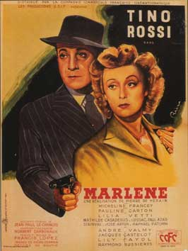Marlene - 11 x 17 Movie Poster - French Style A