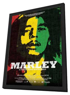 Marley - 11 x 17 Movie Poster - Style A - in Deluxe Wood Frame