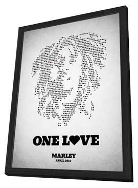 Marley - 11 x 17 Movie Poster - Style B - in Deluxe Wood Frame