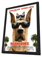 Marmaduke - 27 x 40 Movie Poster - Style B - in Deluxe Wood Frame