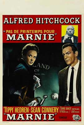 Marnie - 27 x 40 Movie Poster - Belgian Style A
