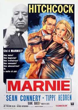 Marnie - 27 x 40 Movie Poster - Italian Style B